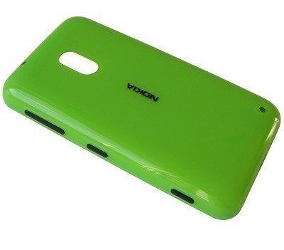 Akkukansi / Takakansi Nokia Lumia 620 green