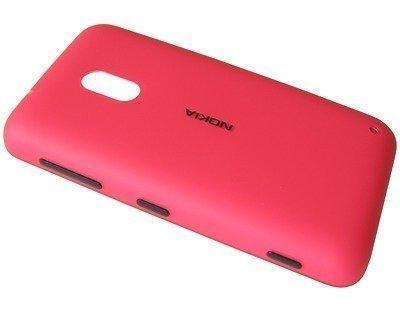 Akkukansi / Takakansi Nokia Lumia 620 magenta