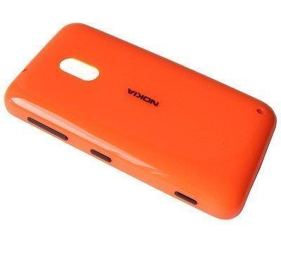 Akkukansi / Takakansi Nokia Lumia 620 orange