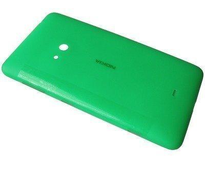 Akkukansi / Takakansi Nokia Lumia 625 green