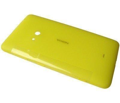 Akkukansi / Takakansi Nokia Lumia 625 yellow