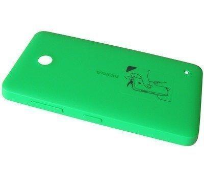 Akkukansi / Takakansi Nokia Lumia 630 green
