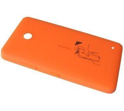 Akkukansi / Takakansi Nokia Lumia 630 orange