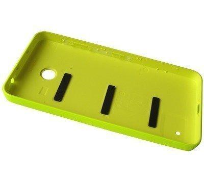 Akkukansi / Takakansi Nokia Lumia 635/ Lumia 636 yellow
