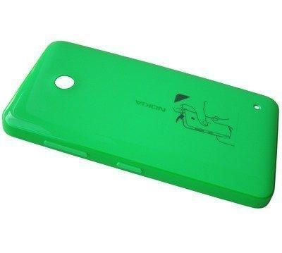 Akkukansi / Takakansi Nokia Lumia 6354 green
