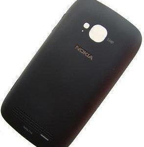 Akkukansi / Takakansi Nokia Lumia 710 musta