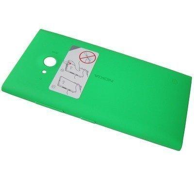 Akkukansi / Takakansi Nokia Lumia 730 / Lumia 735 green