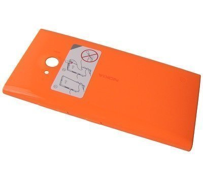 Akkukansi / Takakansi Nokia Lumia 730/ Lumia 735 orange