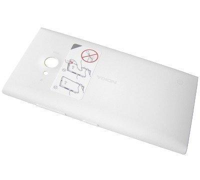Akkukansi / Takakansi Nokia Lumia 730/ Lumia 735 valkoinen