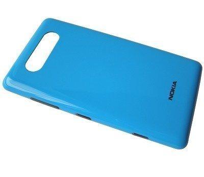 Akkukansi / Takakansi Nokia Lumia 820 cyan