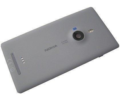 Akkukansi / Takakansi Nokia Lumia 925 grey