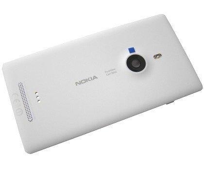 Akkukansi / Takakansi Nokia Lumia 925 valkoinen