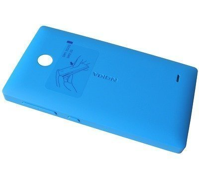 Akkukansi / Takakansi Nokia X/ X+ cyan