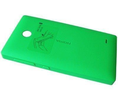 Akkukansi / Takakansi Nokia X/ X+ green