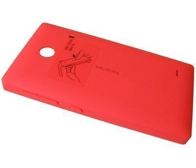 Akkukansi / Takakansi Nokia X/ X+ red