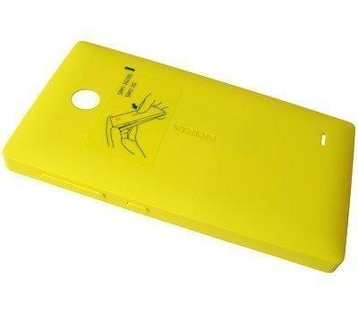 Akkukansi / Takakansi Nokia X/ X+ yellow