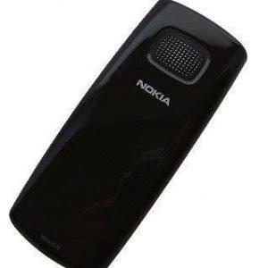 Akkukansi / Takakansi Nokia X1-01 dark grey