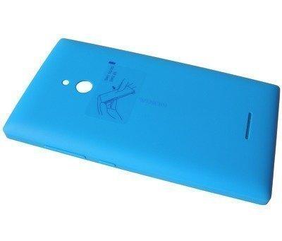 Akkukansi / Takakansi Nokia XL cyan