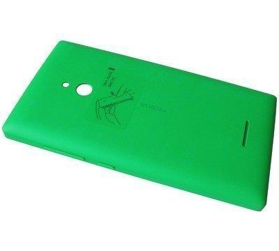 Akkukansi / Takakansi Nokia XL green