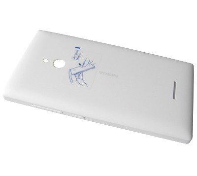 Akkukansi / Takakansi Nokia XL valkoinen