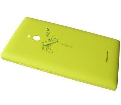 Akkukansi / Takakansi Nokia XL yellow