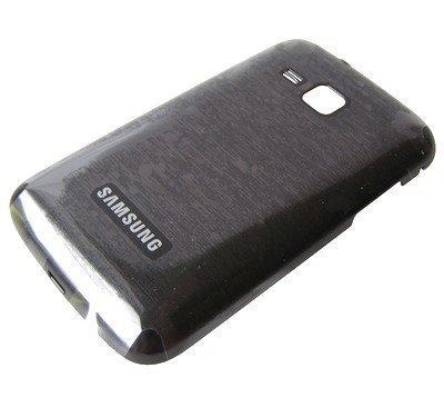 Akkukansi / Takakansi Samsung B5512 Galaxy Y Pro Duos musta