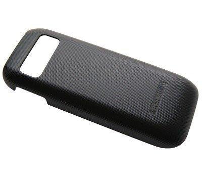 Akkukansi / Takakansi Samsung E1230 titanium silver