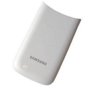 Akkukansi / Takakansi Samsung I8150 Galaxy W valkoinen