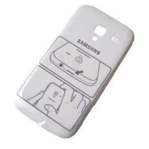 Akkukansi / Takakansi Samsung I8160 Galaxy Ace 2 valkoinen