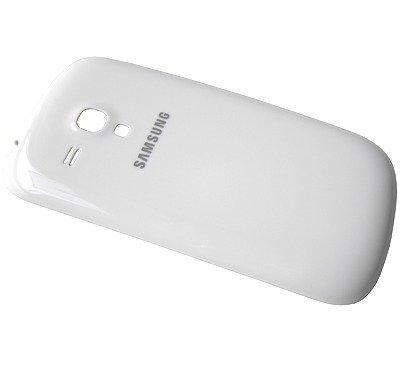 Akkukansi / Takakansi Samsung I8200 Galaxy S3 mini VE valkoinen