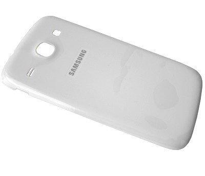 Akkukansi / Takakansi Samsung I8260 Galaxy Core/ I8262 Galaxy Core Dual SIM valkoinen