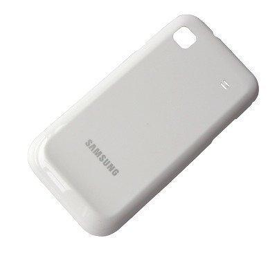 Akkukansi / Takakansi Samsung I9003 Galaxy SL valkoinen