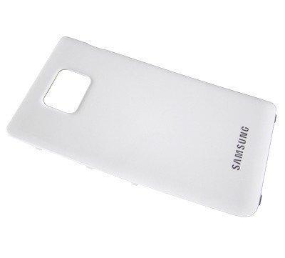 Akkukansi / Takakansi Samsung I9105P Galaxy S2 Plus valkoinen