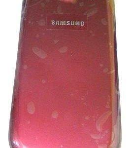 Akkukansi / Takakansi Samsung I9300 Galaxy S3 red