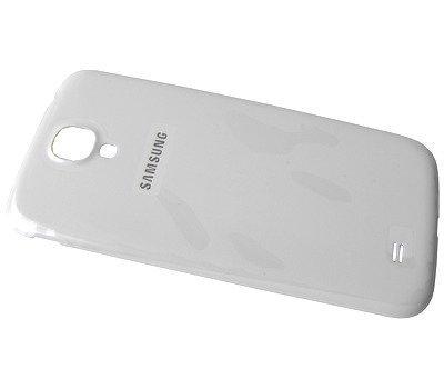 Akkukansi / Takakansi Samsung I9500 Galaxy S4 valkoinen