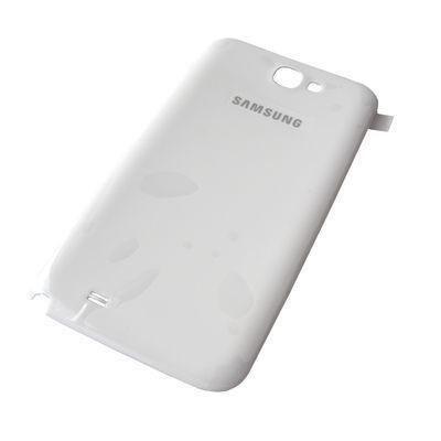 Akkukansi / Takakansi Samsung N7100 Galaxy Note II valkoinen