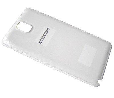 Akkukansi / Takakansi Samsung N9005 Galaxy Note III/ N9006 Galaxy Note III LTE valkoinen