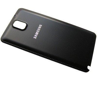 Akkukansi / Takakansi Samsung N9005 Galaxy Note III musta