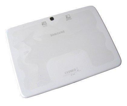 Akkukansi / Takakansi Samsung P5200 Galaxy Tab 3 valkoinen