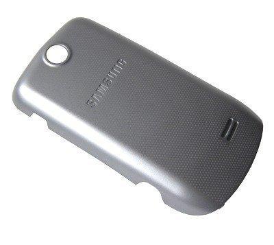 Akkukansi / Takakansi Samsung S3370 silver