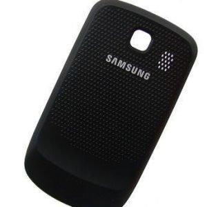 Akkukansi / Takakansi Samsung S3850 Corby II musta