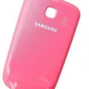 Akkukansi / Takakansi Samsung S3850 Corby II pink