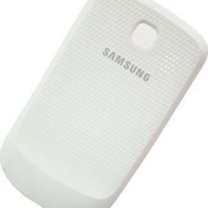 Akkukansi / Takakansi Samsung S3850 Corby II valkoinen