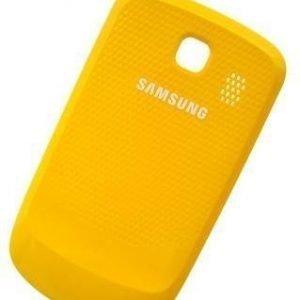 Akkukansi / Takakansi Samsung S3850 Corby II yellow