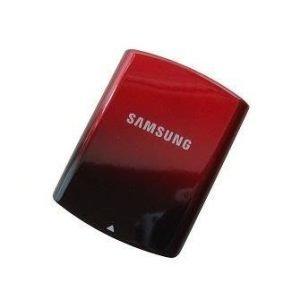 Akkukansi / Takakansi Samsung S5200 red