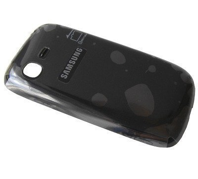 Akkukansi / Takakansi Samsung S5310 Galaxy Pocket Neo blue-musta