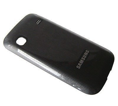 Akkukansi / Takakansi Samsung S5660 Galaxy Gio dark silver