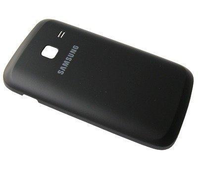 Akkukansi / Takakansi Samsung S6102 Galaxy Y Duos musta