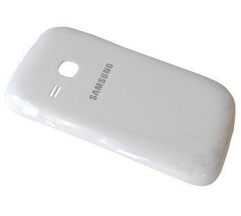 Akkukansi / Takakansi Samsung S6310 Galaxy Young valkoinen