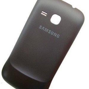 Akkukansi / Takakansi Samsung S6500 Galaxy Mini 2 musta